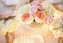 Flowers & Center piece Ideas.... / Rustic Charm/ Vintage / by Jharna Limbu