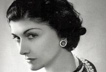 "Coco Chanel / Dedicated to the most stylish lady that ever lived - my icon ""Gabrielle Bonheur Chanel"" born 19 August 1883, died 10 January 1971"
