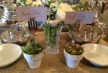 Gatherings and Events / Clever entertaining ideas to take your next gathering or event one step above the norm.
