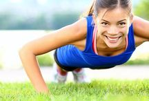 Exercise and health / Killer excercises, healthy recipes and all that