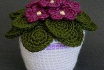 CrochetFlores / Flores tejidas