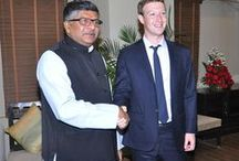 Meeting with Mark Zuckerberg / Meeting with the founder of Facebook Mark Zuckerberg