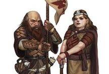 Dwarf / Dwarf portraits for roleplaying games