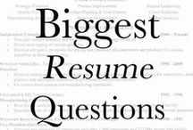 Career, Job and Resume Tips and Tricks. / Advice and tricks on how to improve your resume and become a better employee or employer.