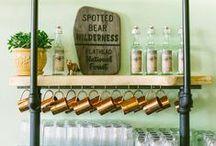 Savor / Cocktail Party, Home Bar decor, Foodie Art, Food Styling, Interior Decor Inspiration, Kitchen Decor, Bar Decor