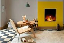 HOME FEATURES\\Fireplaces Tile Stoves