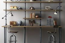 Inventive Industrial / A collection of industrial themed furniture, decoration, interiors and creative tutorials.