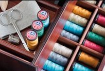 Sew Inspiring / Everything you need from ribbons, fabrics and threads, to get you inspired for your next sewing project