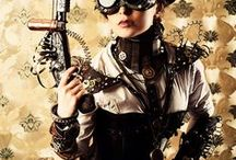 Steampunk / Gadgets / Clothing / Accessories / Weapons / A style of Design and Fashion that combines historical elements with anachronistic technological features inspired by 19th-century industrial steam-powered machinery.The imaginary land where electricity never replaced steam power. You can find  fashion, clothing, accessories and mostly gadgets of this world.