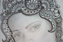 arte zentangle / trazos intuitivos