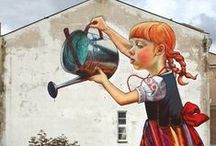 Street Art / Making the world a prettier place one street at a time