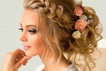 Updo Hairstyles / Wear your hair in a bun, ponytail or a up twister scrunching. Cute manageable stylish hairstyles.