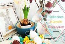 Easter, Húsvét / Diy and decoration for Easter.  Húsvéti dekorációk készítse hobbi technikákkal.