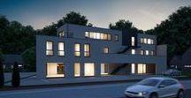 Nieuwbouw Residenties / Residenties op een professionele manier op de markt brengen. Dit door onze visualisaties.
