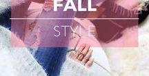 Style : Automne ※ Fall / Idées de look pour l'automne ※ Fall style inspiration, outfit ideas