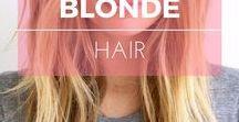 Cheveux blonds ※ Blonde hair / Idées de couleur et coiffure pour les cheveux bruns ※ Brunette hair color ideas & inspiration