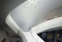 Arch / Interiorflow / Fluid / Curved interiors / Curved, fluidistic, cave-like architectural interiors. Modern, Postmodern, Ultra Modern, Hypermodern and Neo Futurist architecture, creations and experiments of Zaha Hadid architects.