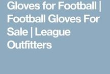 Football Gloves / #under #armour #cutters #adult #football #gloves #youth #receiver #leather