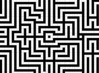 Graph / Labyrinth / Maze / Meander / Graphics of labyrinths or geometric structures that can be made into some type of labyrinth.