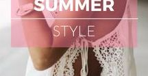 Style : Eté ※ Summer / Summer style inspiration, outfit ideas