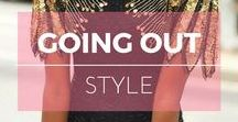 Style : Soirée ※ Going out / Going out style inspiration, party outfit ideas