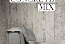 Concrete Mix / Solid, edgy and industrial concrete home decor pieces from Lyon Beton, Piet Boon, Seletti and Umbra.