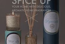 Delicious, Aromatic Kew Garden Home Fragrances / A delicious range of pure essential oil fragrances in the elegant forms of oil diffusers & scented candles, long lasting and filling your home with the heady scents of Kew Gardens finest flora.