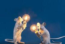 Unusual Table Lamps & Lighting