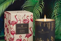 Home Fragrances / A delicious and sensory range of scented candles and home fragrance diffusers made from only the finest essential oils.