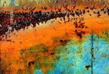 Rusty Background Textures / colorful