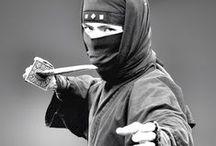 Ninja & Samurai  / Bountyhunter, Ninja warrior, Assassin, Spy