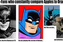 Batman/Dark Knight / Heroes / by Carlton Smith