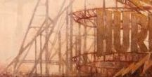 urban landscape / urban landscape paintings and drawings