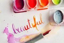 04.  c a l l i g r a p h y / Calligraphy, beautiful fonts and stuff like that