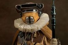 Star Wars Leia as Boushh