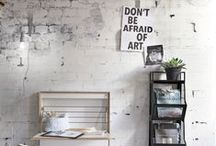 Lifestyle - Wall Inspiration / Lifestyle | Brick Walls | Concrete Walls