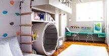 Active Play Room Ideas / Ideas for updating our upstairs into an active playroom for our kids and ourselves!