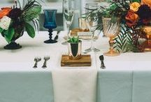 we love tabletops & place settings