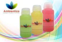 Ambientiza nueva imagen / Fotos sobre los productos de Ambientiza