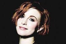 Hayley Williams / My role model.  My hero.  Just perfect.