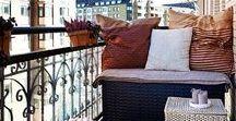 Balkone / Wir haben das Glück, einen süßen kleinen Balkon hier in Potsdam zu haben. Für nächstes Jahr nehmen wir uns vor, ihn richtig hübsch zu machen. Dafür sammeln wir hier fleißig Inspiration.
