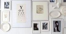 Bilderwand / Wir haben eine Bilderwand rund um unseren Esstisch und lieben Bilderwände einfach. Deshalb können wir auch gar nicht genug davon bekommen und pinnen hier fleißig unsere Bilderwand Favoriten.