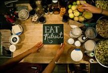 What happens at Eat Retreat? / Doesn't stay at Eat Retreat. Workshops, stories, reflections...