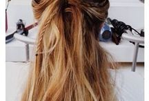 Hairstyles / Pretty and cool hairstyles