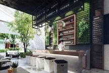 Boutique / Bureau / Lieux public / Boutique, bureaux, lieux public, vitrine, restaurant,