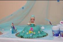 Frozen oslava / Oslava narozenin ve stylu Ledového království