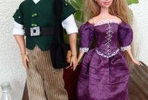 Barbie / šití na panenky