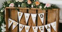 Hochzeitsideen / Unsere Sammlung voller bunter Hochzeitsideen.