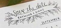 Save the date Karten Hochzeit / Hier sammeln wir unsere liebste Save the Date Karten für Hochzeiten.