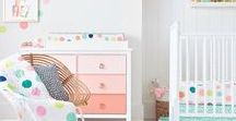 Kinderzimmer / Seit diesem Jahr ist für uns das Kinderzimmer ein relevantes Thema und natürlich haben wir uns für Marlenas Zimmer bei Pinterest Inspiration gesucht. Hier sind unsere Favoriten.